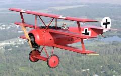 Fokker Dr1 model airplane plan