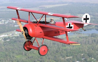 Fokker Dr1 model airplane plan