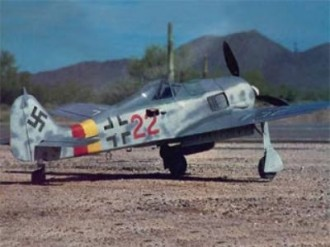 FW 190 A-8 model airplane plan