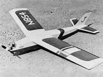 GLH GLAIDER model airplane plan