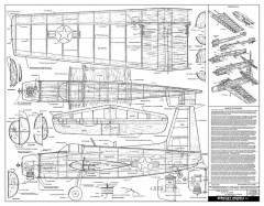 Grumman Guardian-1 model airplane plan