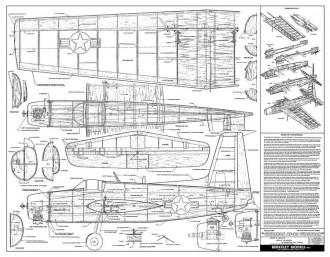 Grumman Guardian-1 model airplane plan