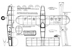 Hemiptere 40 model airplane plan