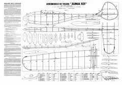 Juma 101 model airplane plan