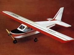 Jumbo model airplane plan