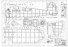 MKM-160 Kamarad model airplane plan