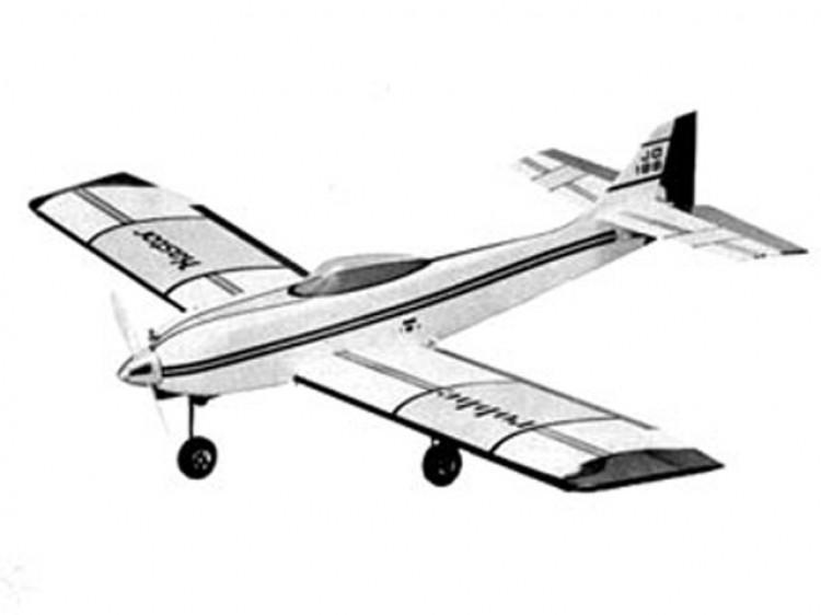KASTOR model airplane plan