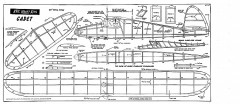Cadet Keil Kraft model airplane plan
