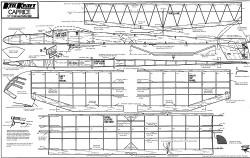 Caprice Keil Kraft model airplane plan