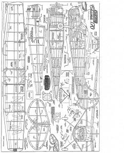 Cessna 170 Keil Kraft model airplane plan