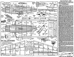 De Havilland  Venom Keil Kraft. model airplane plan