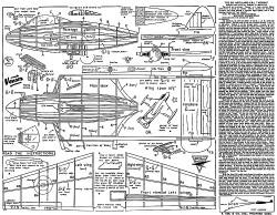 De Havilland  Venom Keil Kraft. model airplane plan