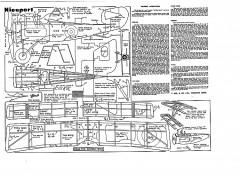 Nieuport Keil Kraft. model airplane plan