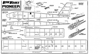 Pioneer Keil Kraft model airplane plan