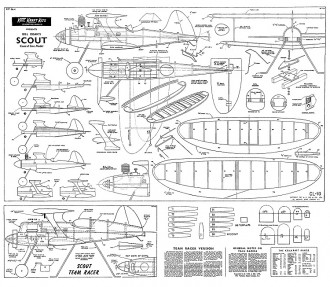 Scout Keil Kraft model airplane plan