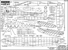 kk slicker mite 400 dpi model airplane plan
