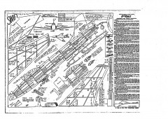 Supermarine Swift Keil Kraft. model airplane plan