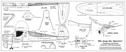 Lazy Joe Sportster model airplane plan