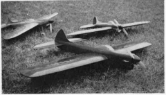 "La ""Cuillere a Souppes"" model airplane plan"
