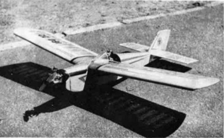 Gnat II model airplane plan