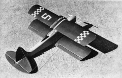 Mini Racer model airplane plan
