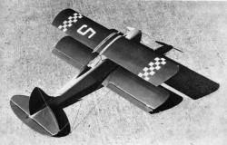 Mini Racer model airplane plan