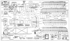 LVG C VI model airplane plan