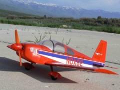 Grumman American Lynx model airplane plan