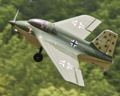 Messerchmitt ME 163B 1A model airplane plan