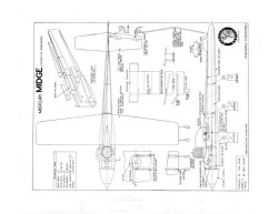 Midge model airplane plan