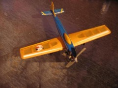Mini Kaos model airplane plan