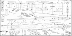 MK CURARE .60 model airplane plan