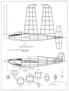 Nemesis 3 model airplane plan