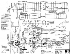 Nieuport 11 model airplane plan