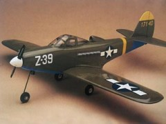 P-39 Airacobra model airplane plan