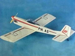 PIK As model airplane plan