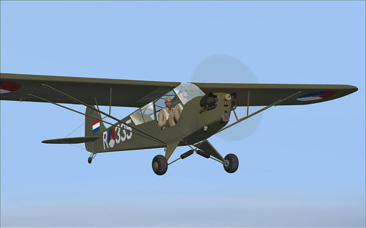Piper Cub J-3 model airplane plan