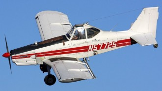 Piper Pawnee Brave (with article) model airplane plan