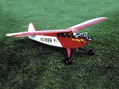 POKE ALONG model airplane plan
