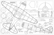 Polikarpov 185 model airplane plan
