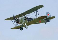Po-2 model airplane plan