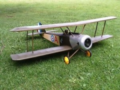 Puppeteer model airplane plan
