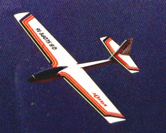 Q.B. Slope 16 model airplane plan