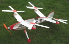Quadratwirl Electric Autogyro model airplane plan