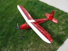 Quaker Flash model airplane plan