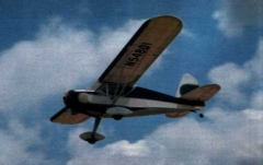 Rearwin Sky Ranger model airplane plan
