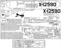 Rearwin Speedster model airplane plan