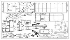 SkyGipsy model airplane plan