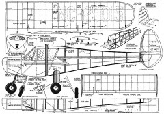 Skyfarer 70in model airplane plan