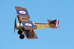 Sopwith Pup model airplane plan